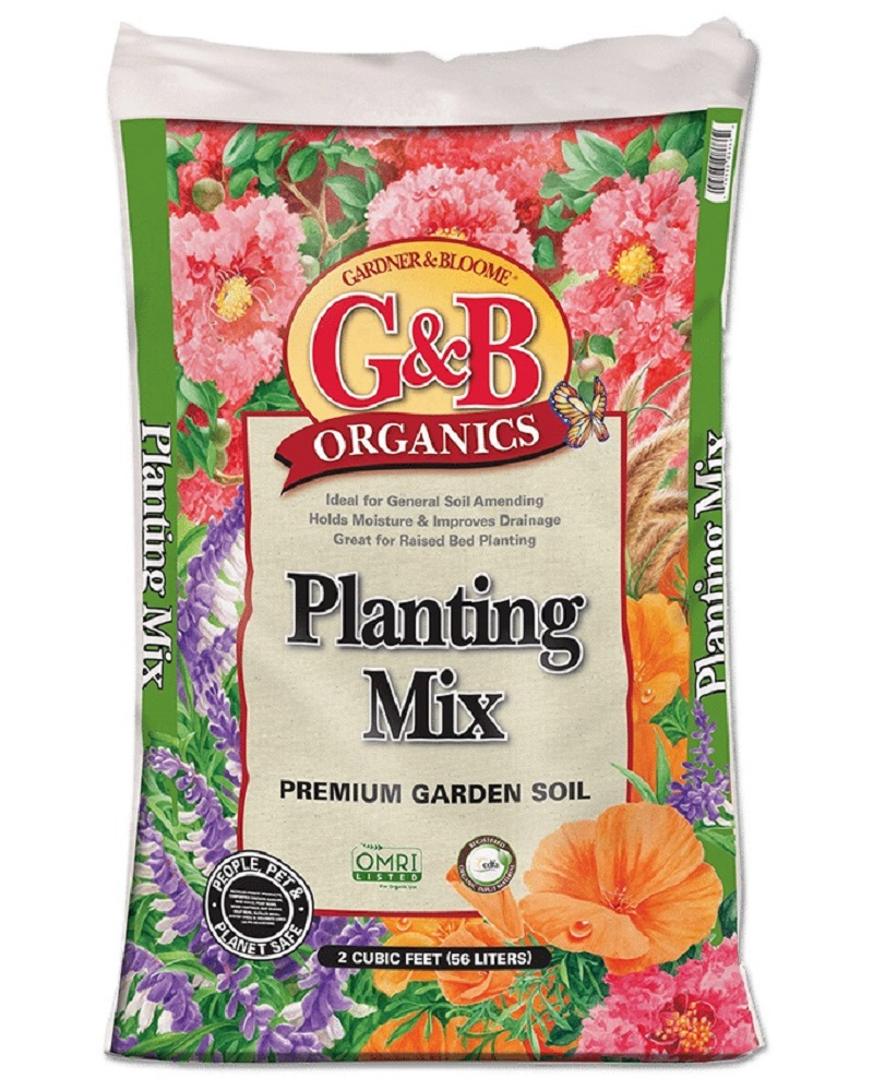 G&B Organics Planting Mix 2 cf. bag
