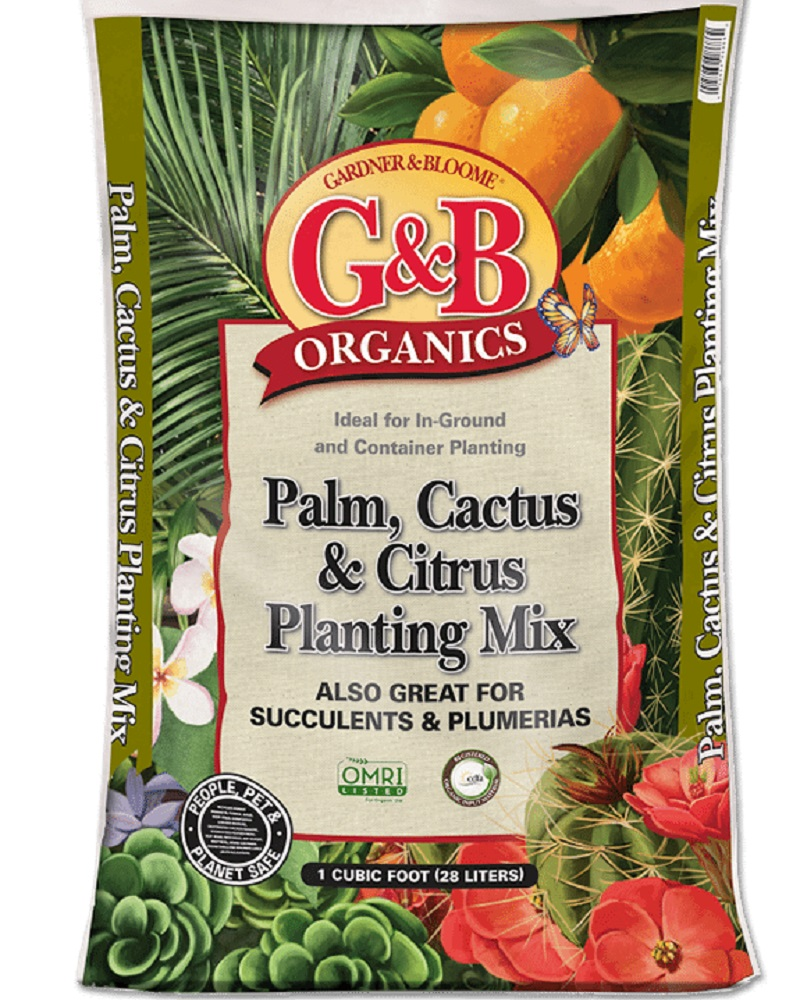 G&B Organics Palm, Cactus & Citrus Planting Mix  1 cf. bag
