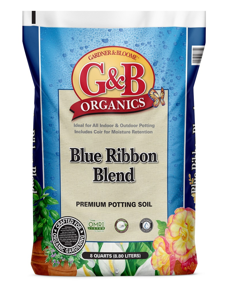 G&B Organics Blue Ribbon Blend Potting Soil 8 qt. bag
