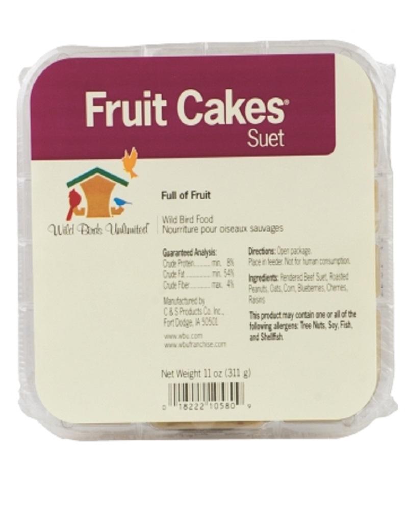Suet Cake Fruit Cake