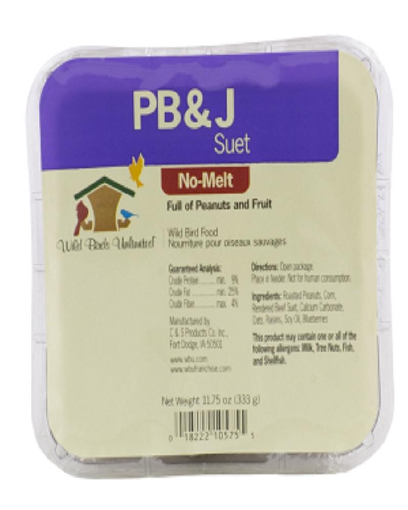 Suet Cake No Melt PB & J
