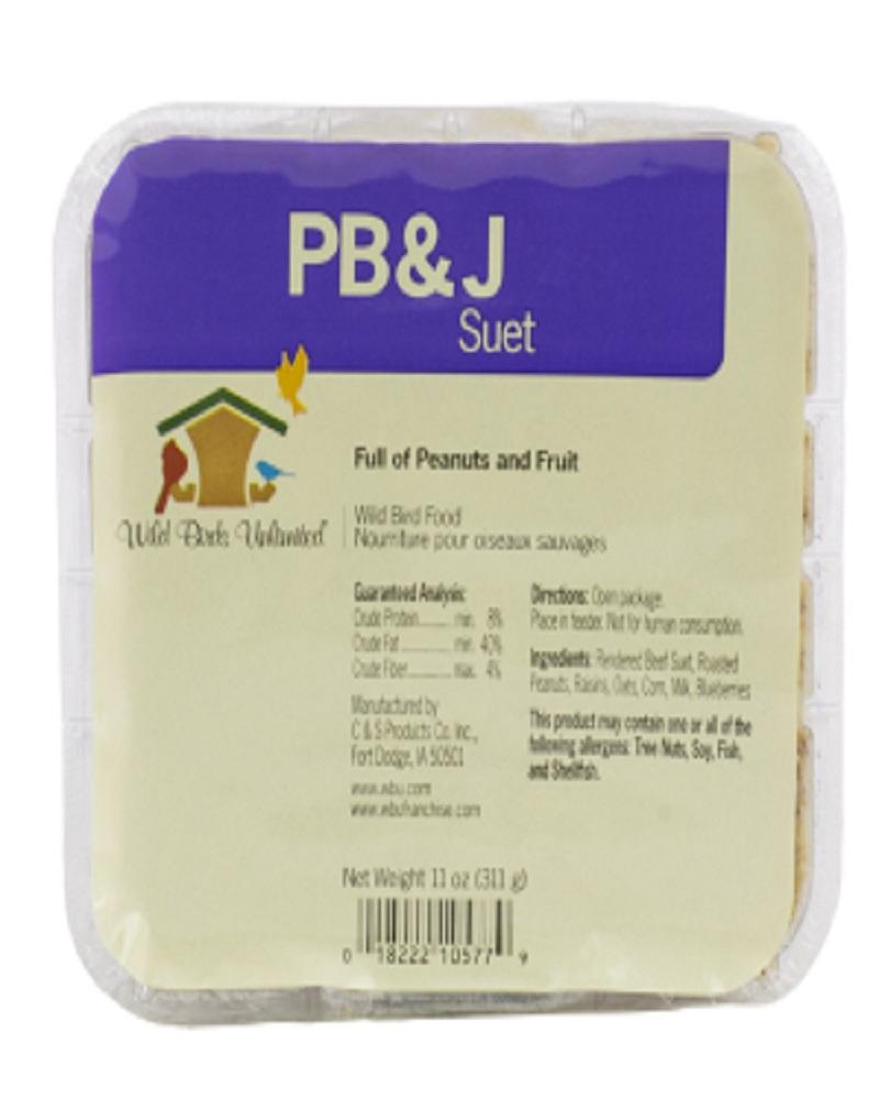 Suet Cake PB & J
