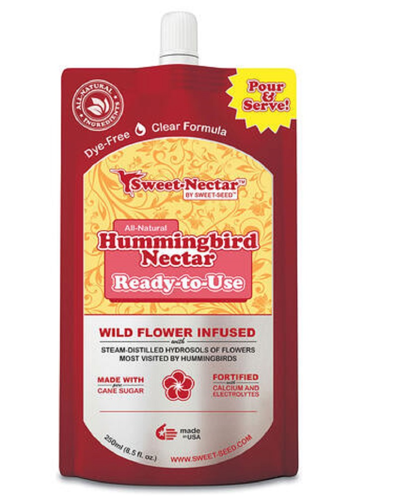 Hummingbird Nectar, Ready-to-Use, 250mL Bag