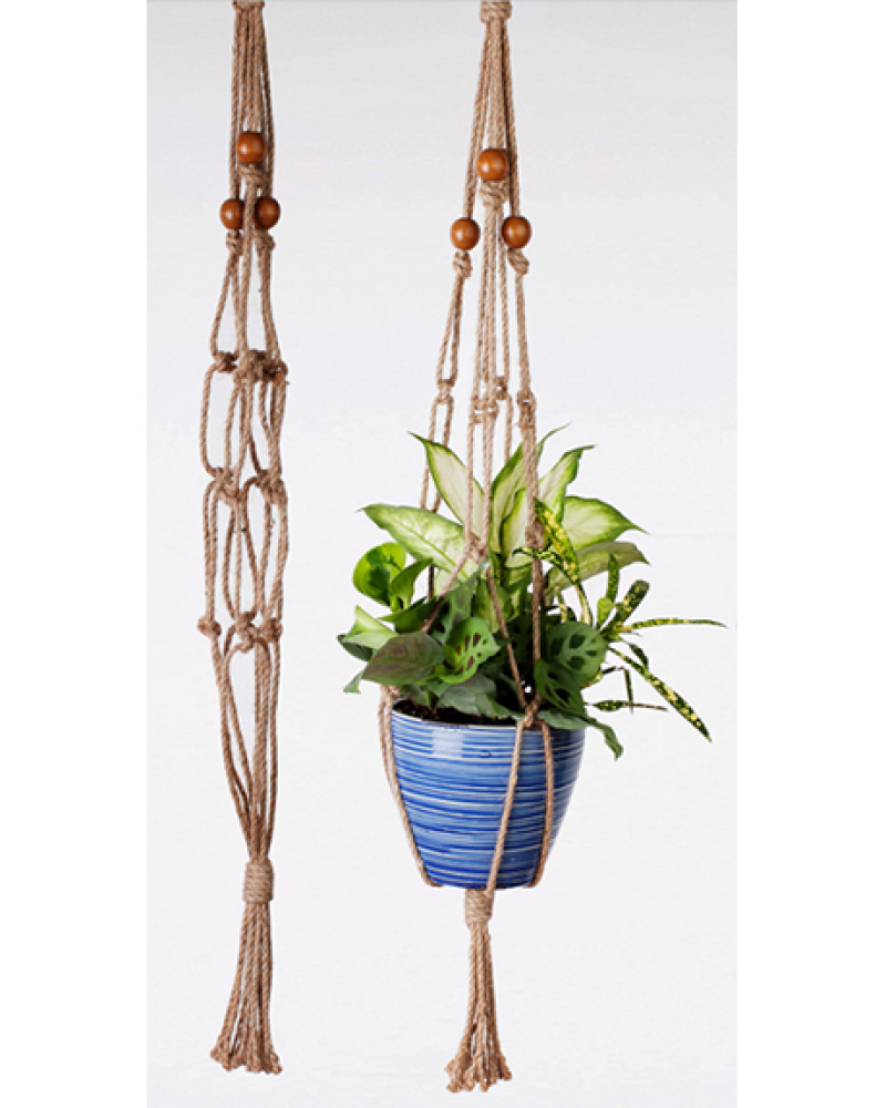 "36"" All Natural Jute Hanger"