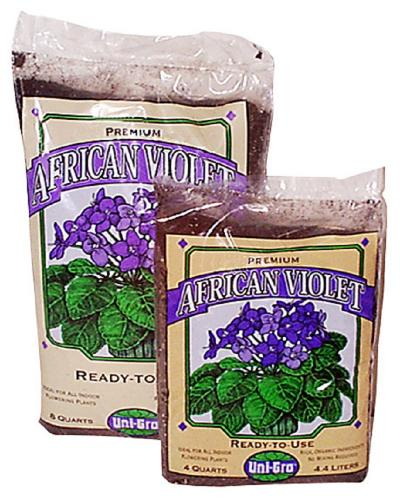 Uni-Gro African Violet Mix 4 qt. bag