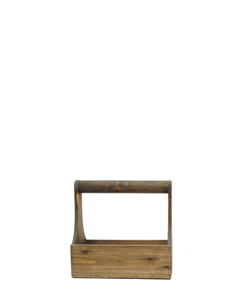 Wood Rectangle Planter Small