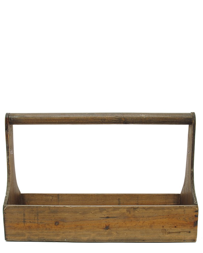 Wood Rectangle Planter Large