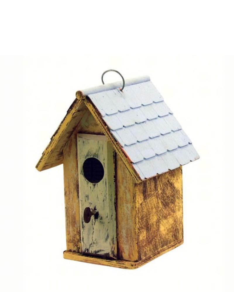 Lock and Key Birdhouse Barn