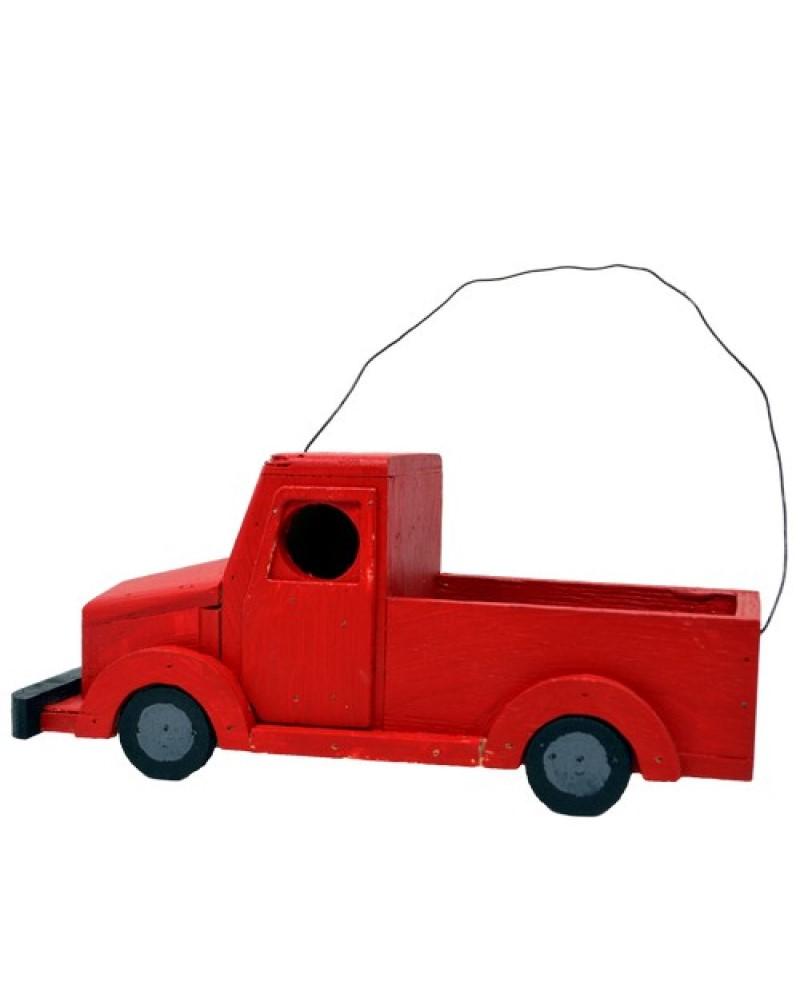 Red Truck Birdhouse