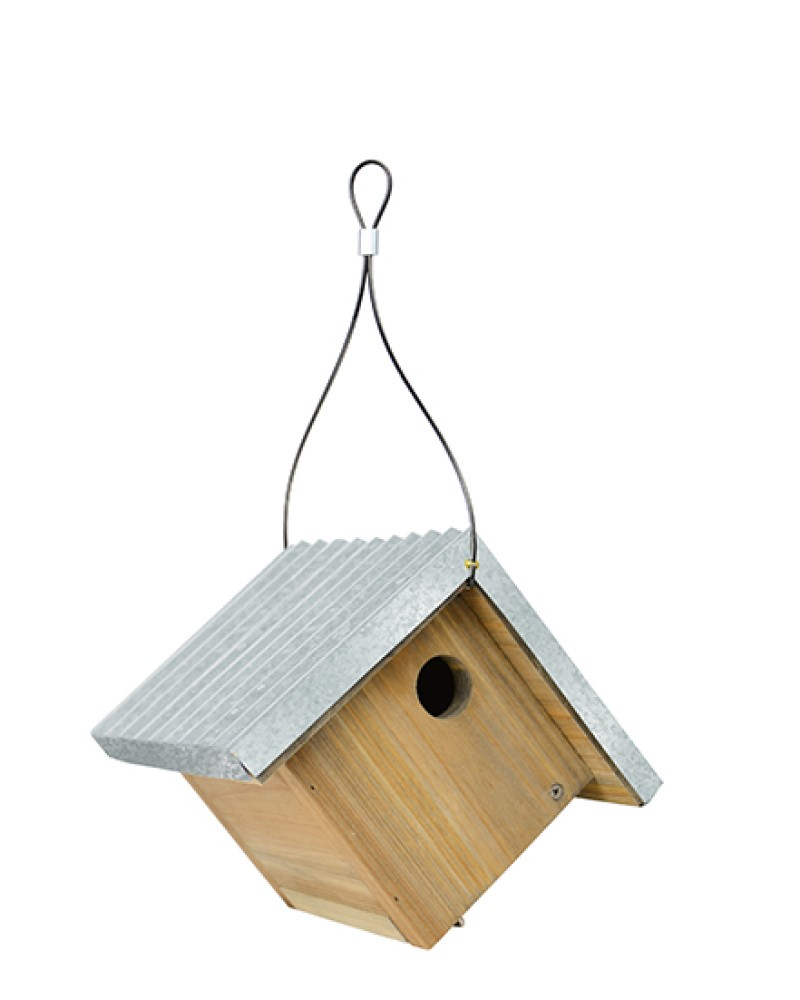 Wren Rustic Birdhouse