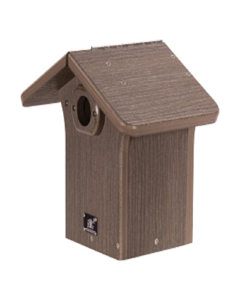 Modern Rustic Eco Western Bluebird House