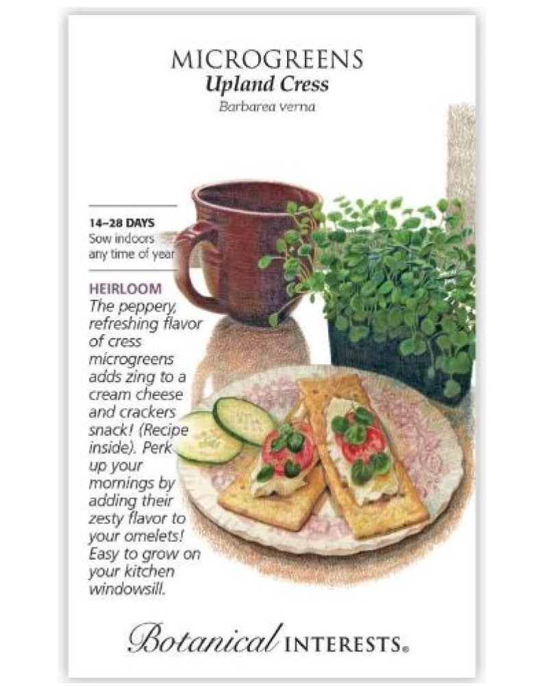 Microgreens Upland Cress Seed Pack