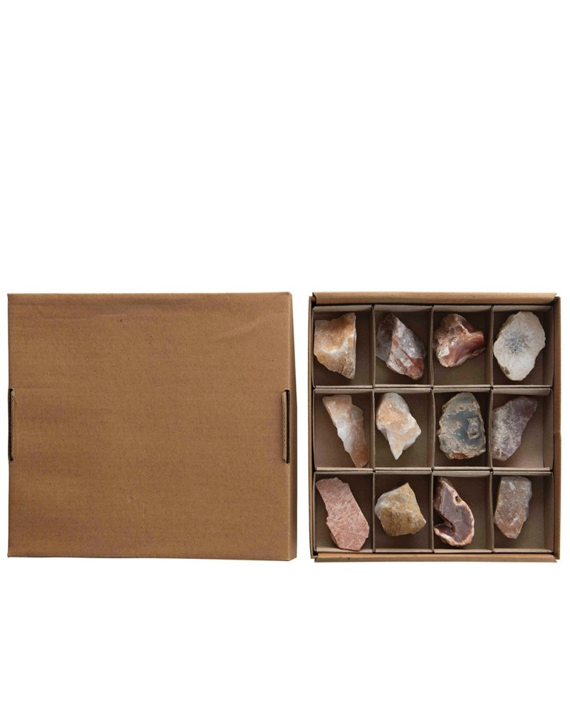 Box of Found Stone Minerals