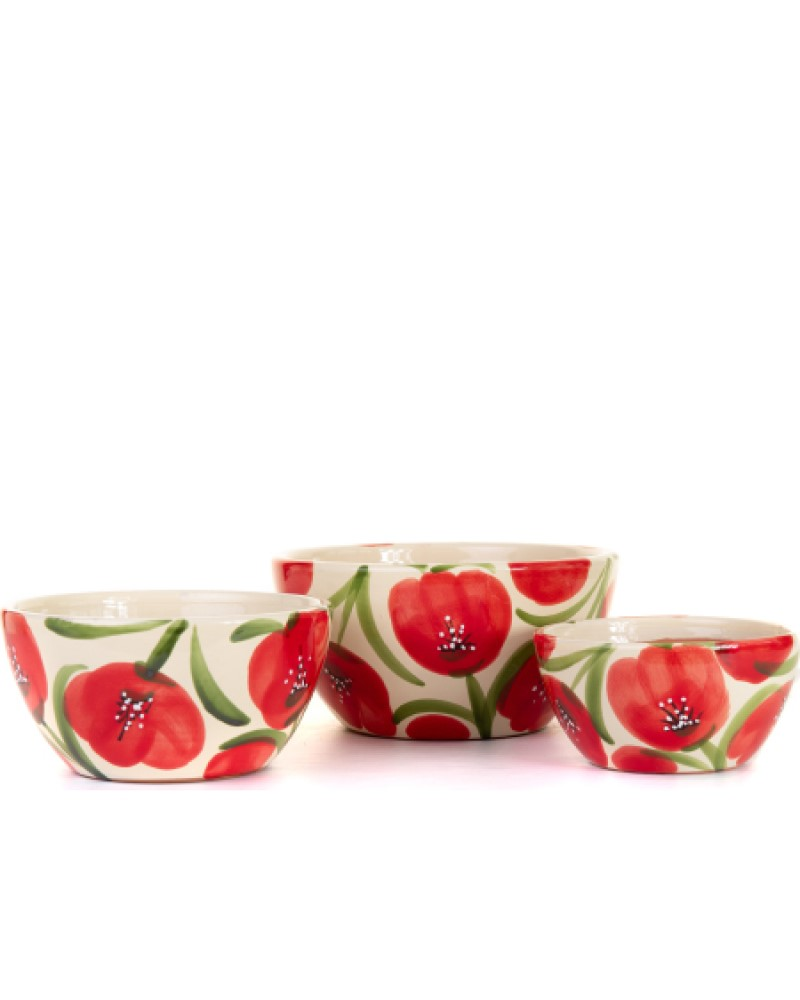 Poppy Bowl Planter 12""