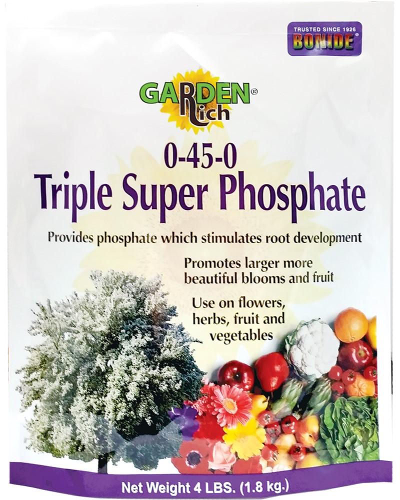 Bonide Garden-Rich Triple Superphosphate 0-45-0, 4lbs