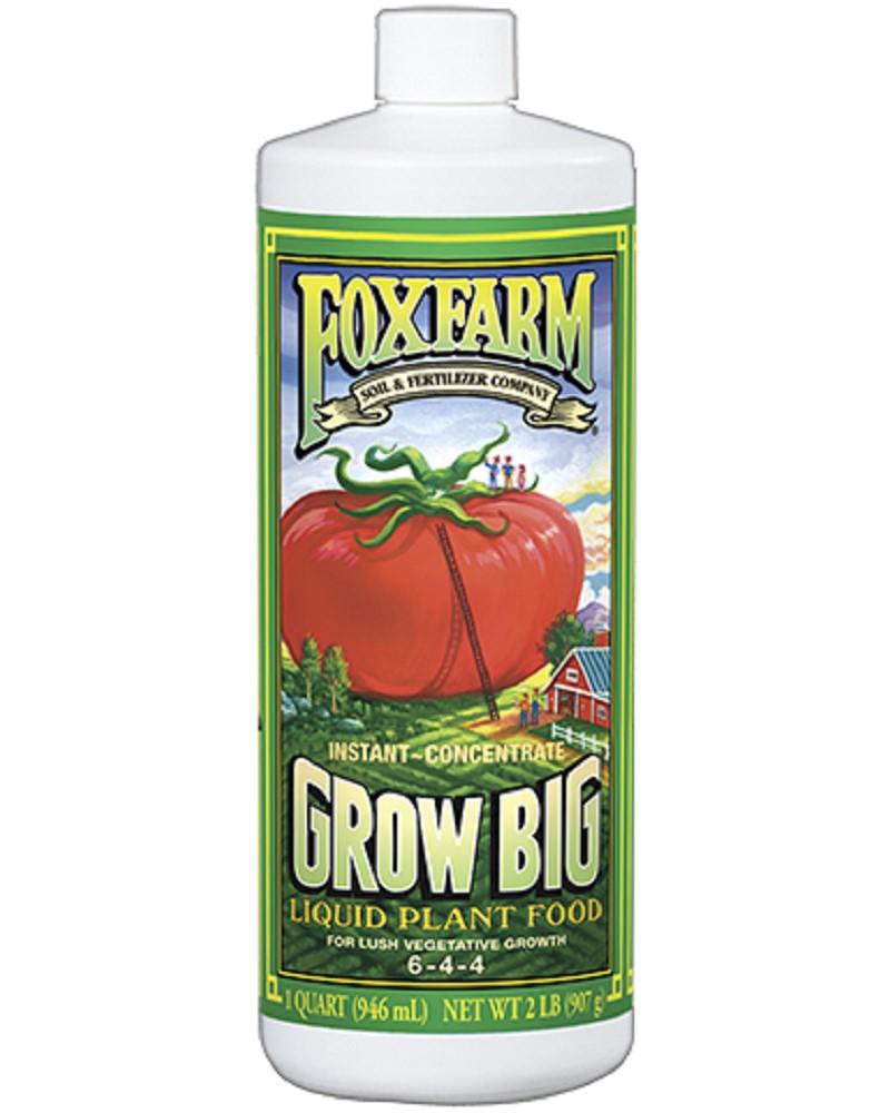 FoxFarm Grow Big Quart (6-4-4)