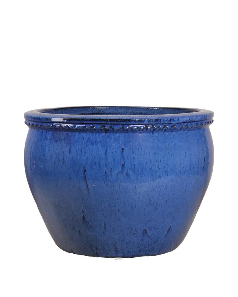 "Nambe Planter 21"" Blue"