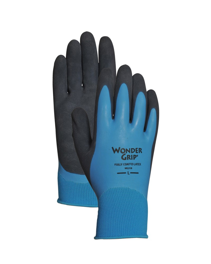 Latex Coated Gloves Large