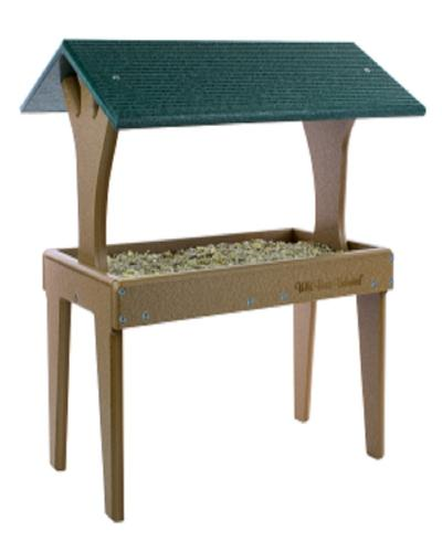 EcoTough Fly-Thru Ground Feeder